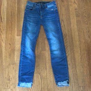 STS blue cropped hem jeans